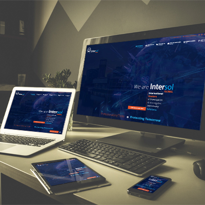 Intersol Global Website Design & Development by Kobba - The Creative Agency