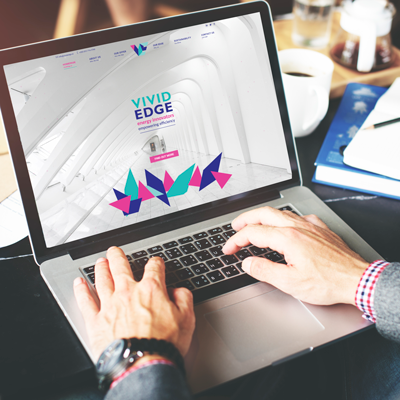 Vivid Edge Website Design & Development by Kobba - The Creative Agency