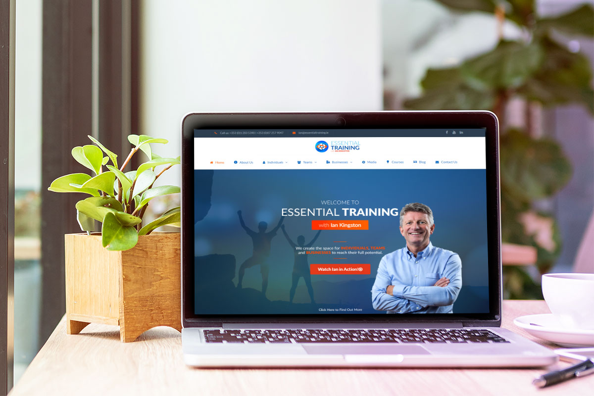 Essential Training by Ian Kingston Website Design & Development by Kobba - The Creative Agency
